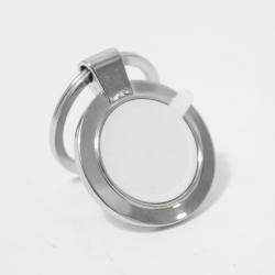 Llavero metálico macizo Circular