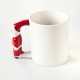 Taza con Papa Noel