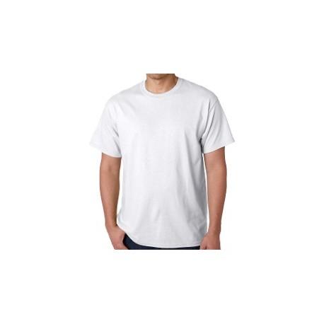 Polo Blanco Listo para Sublimar Talla S (Hombres)