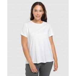 Polo Blanco Listo para Sublimar Tallas S-M-L (Mujeres)