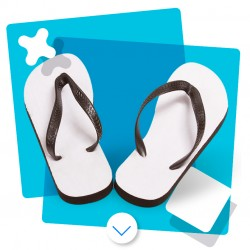 Sandalias para Adulto Sublimables