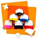 Gorras de colores para sublimar - Talla grande