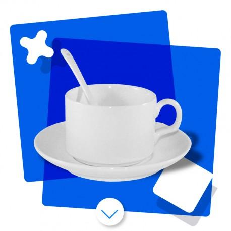 Set de Taza de Café con Leche
